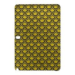 Scales2 Black Marble & Yellow Leather Samsung Galaxy Tab Pro 10 1 Hardshell Case