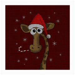 Christmas Giraffe  Medium Glasses Cloth