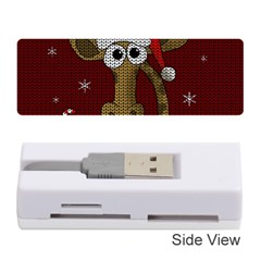 Christmas Giraffe  Memory Card Reader (stick)