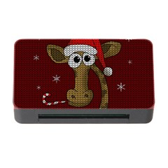 Christmas Giraffe  Memory Card Reader With Cf