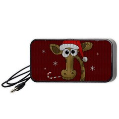 Christmas Giraffe  Portable Speaker