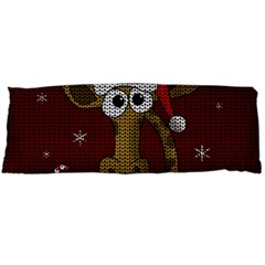 Christmas Giraffe  Body Pillow Case (dakimakura)