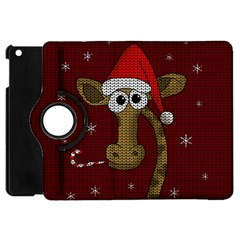 Christmas Giraffe  Apple Ipad Mini Flip 360 Case