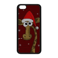 Christmas Giraffe  Apple Iphone 5c Seamless Case (black)