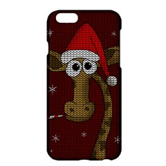 Christmas Giraffe  Apple Iphone 6 Plus/6s Plus Hardshell Case