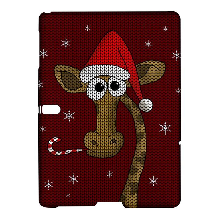 Christmas Giraffe  Samsung Galaxy Tab S (10.5 ) Hardshell Case