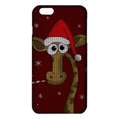 Christmas Giraffe  Iphone 6 Plus/6s Plus Tpu Case