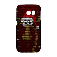 Christmas Giraffe  Galaxy S6 Edge