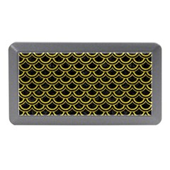 Scales2 Black Marble & Yellow Leather (r) Memory Card Reader (mini)