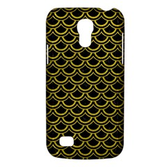 Scales2 Black Marble & Yellow Leather (r) Galaxy S4 Mini