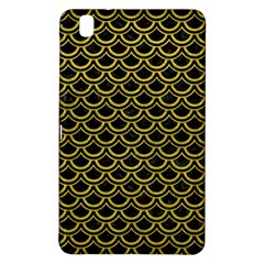 Scales2 Black Marble & Yellow Leather (r) Samsung Galaxy Tab Pro 8 4 Hardshell Case