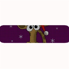Christmas Giraffe  Large Bar Mats
