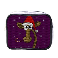Christmas Giraffe  Mini Toiletries Bags