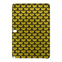 Scales3 Black Marble & Yellow Leather Samsung Galaxy Tab Pro 10 1 Hardshell Case
