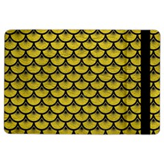 Scales3 Black Marble & Yellow Leather Ipad Air 2 Flip