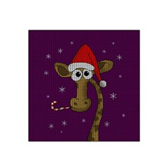 Christmas Giraffe  Satin Bandana Scarf