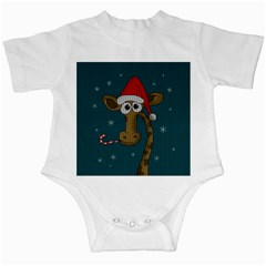 Christmas Giraffe  Infant Creepers
