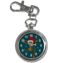 Christmas Giraffe  Key Chain Watches