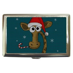 Christmas Giraffe  Cigarette Money Cases