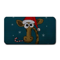 Christmas Giraffe  Medium Bar Mats