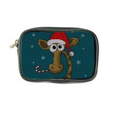 Christmas Giraffe  Coin Purse