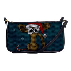 Christmas Giraffe  Shoulder Clutch Bags