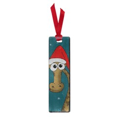 Christmas Giraffe  Small Book Marks