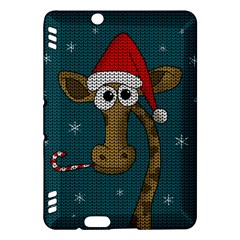 Christmas Giraffe  Kindle Fire Hdx Hardshell Case