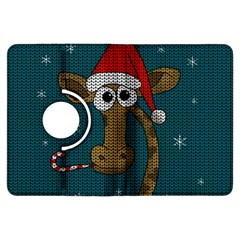Christmas Giraffe  Kindle Fire Hdx Flip 360 Case