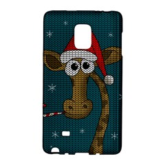 Christmas Giraffe  Galaxy Note Edge