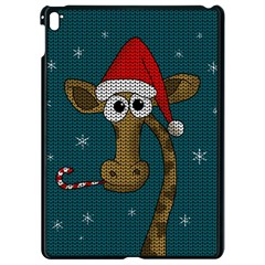 Christmas Giraffe  Apple Ipad Pro 9 7   Black Seamless Case