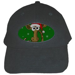 Christmas Giraffe  Black Cap