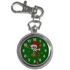 Christmas Giraffe  Key Chain Watches