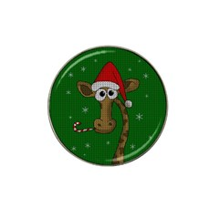 Christmas Giraffe  Hat Clip Ball Marker (10 Pack)