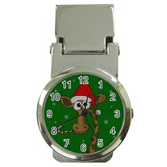 Christmas Giraffe  Money Clip Watches