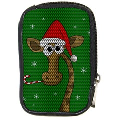 Christmas Giraffe  Compact Camera Cases