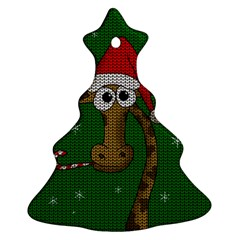 Christmas Giraffe  Ornament (christmas Tree)