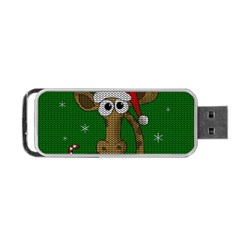 Christmas Giraffe  Portable Usb Flash (one Side)