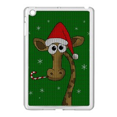 Christmas Giraffe  Apple Ipad Mini Case (white)