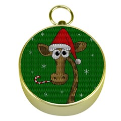 Christmas Giraffe  Gold Compasses