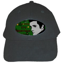 Elvis Presley   Christmas Black Cap