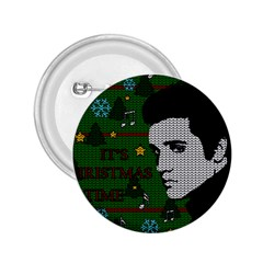 Elvis Presley   Christmas 2 25  Buttons