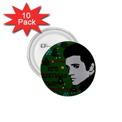 Elvis Presley   Christmas 1 75  Buttons (10 Pack)