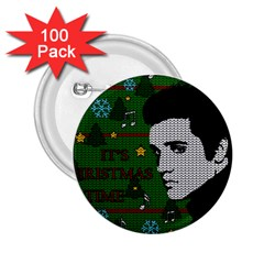 Elvis Presley   Christmas 2 25  Buttons (100 Pack)