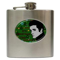 Elvis Presley   Christmas Hip Flask (6 Oz)