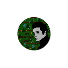 Elvis Presley   Christmas Golf Ball Marker