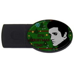 Elvis Presley   Christmas Usb Flash Drive Oval (2 Gb)