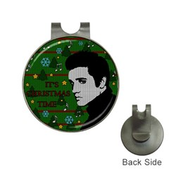 Elvis Presley   Christmas Hat Clips With Golf Markers