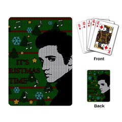 Elvis Presley   Christmas Playing Card