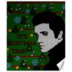 Elvis Presley   Christmas Canvas 8  X 10